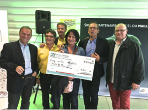 La Bernard Hinault 2016 au profit de l'ADMR TUBA