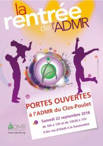 L'ADMR du Clos Poulet organise des portes ouverte