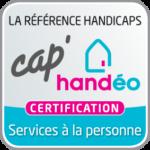 Logo certification CapHandéo services à la personne