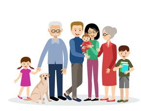 DEssin famille
