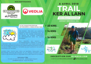 Trail Ker Al Lann au profit de l'association TUBA