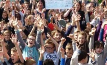 L'école Notre Dame de Saint Grégoire s'est mobilisée pour l'ADMR TUBA