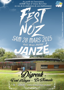 Fest Noz ADMR TUBA Mars 2015