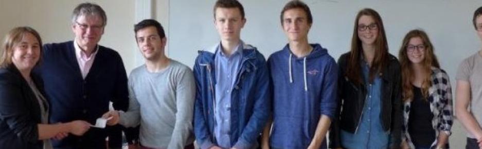 Mobilisation des élèves du Lycée Châteaubriand pour TUBA