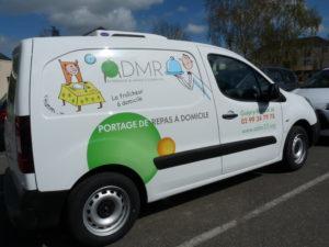 Vehicule admr guipry messac portage repas