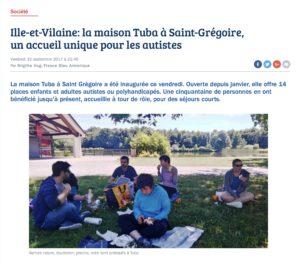 Ille-et-Vilaine: la maison Tuba à Saint-Grégoire, un accueil unique pour les autistes