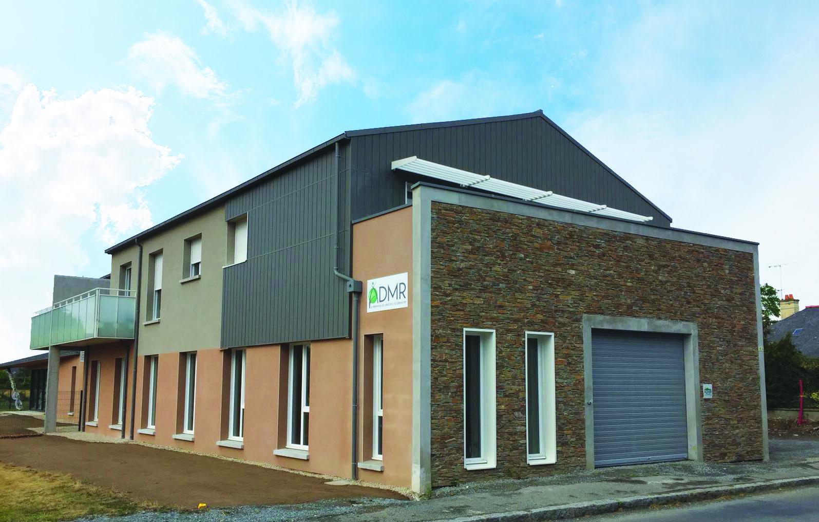 Nouveaux locaux ADMR du Clos Poulet à la la Gouesnière