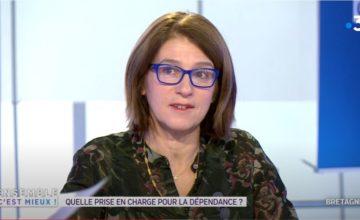 Image Nathalie Piermé-Colombel présidente de la fédération ADMR 35